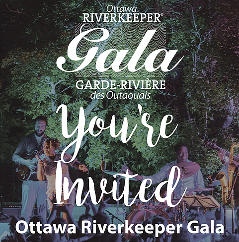 UPCOMING EVENT: The Ottawa Riverkeeper Gala